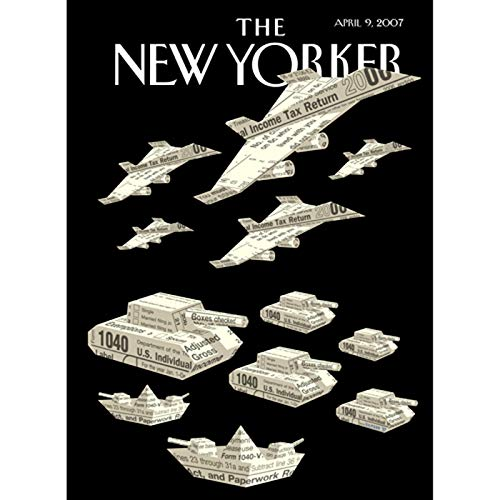 The New Yorker (April 9, 2007) copertina
