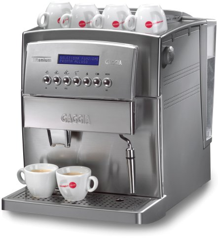 Gaggia 90500 Titanium Super Automatic Espresso Machine, Silver