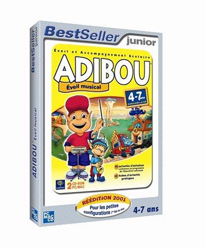 Preisvergleich Produktbild Adibou - éveil musical 2006 : maternelle et CP (4-7 ans)