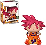 LUGJ Funko Pop Dragon Ball Super Kawaii Q Versión Nendoroid Anime Figura Flame Goku En Caja Pop Vini...