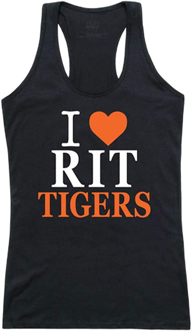 RIT Rochester Institute of Technology NCAA I Love Max 55% OFF Special price for a limited time Women's T Tank