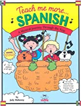 Teach Me More Spanish (Paperback and Audio CD): A Musical Journey Through the Year