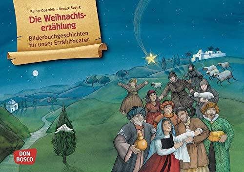 Die Weihnachtserzählung. Kamishibai Bildkartenset. Bilderbuchgeschichten für unser Erzähltheater (Bildkarten für den Religionsunterricht)
