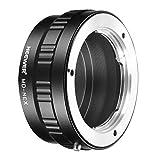 Neewer Adaptador de Montaje de Lentes para Minolta MD Sony NEX E-Montaje de cámara A7 A7S A7SII A7R A7RII A7II A3000 A6000 A6300 A6500 NEX-3 NEX-3C NEX-5 NEX-5C NEX-5N