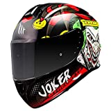 CASCO MT TARGO JOKER A1 NEGRO BRILLO (M)
