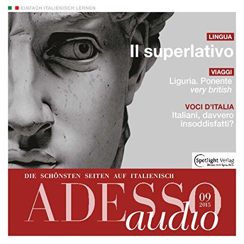 ADESSO audio - Il superlativo. 9/2015 Titelbild