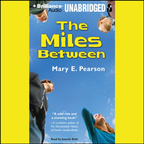 The Miles Between audiobook cover art
