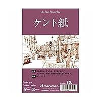 マルマン 絵手紙用ポストカード ケント紙 30枚 S145C 『 2 冊 』