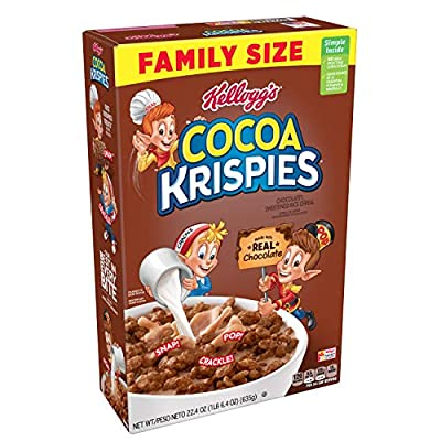 chocolate cereals breakfast