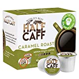 World's Best Half Caff Caramel Coffee 24ct. Recyclable Single Serve Coffee Pods - Richly satisfying arabica beans California Roasted, k-cup compatible including 2.0