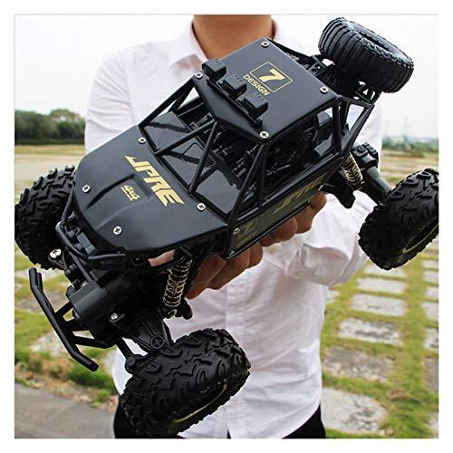 YYQIANG 1/16 Scal Scal Extremo Remote Control Car 4x4 Big Pie Off Road Buggy RC Rally Vehículo con batería Recargable Profesional 2.4GHz Radio Control Rading Coche Adultos y niñ
