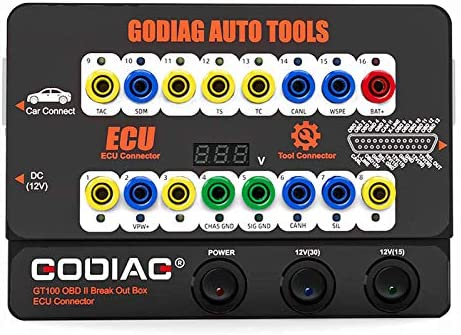 GODIAG GT100 Car Tool OBD2 Breakout Box ECU Connector Used for OBDII Protocol Communication product image