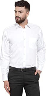 Raza Fashion Men's Regular Fit Full Sleeves Formal Shirt