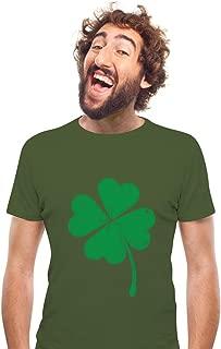 Four-Leaf Clover - St Patrick's Day Irish Shamrock Men's T-Shirt