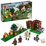 LEGO Minecraft - El Puesto de Saqueadores, Juguete de Construcción...