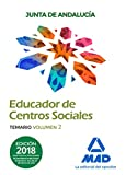 Educadores de Centros Sociales. Personal Laboral de la Junta de Andalucía. Temario Volumen 2