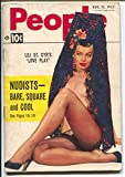 People Today 8/12/1953-Lili St Cyr spicy cover-cheesecake-exploitation-nudists-VG