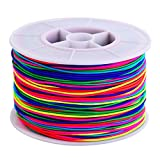100 m Filo Elastico Fili per Perline Tessuto Perline Thread Bead String Craft Cord, 1 mm, ...