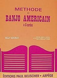 Partition : Methode banjo americain 5 cordes B. Mauray