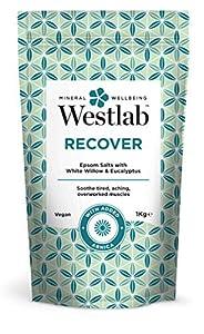 Westlab 's Recuperar sales de Epsom con sauce blanco y eucalipto