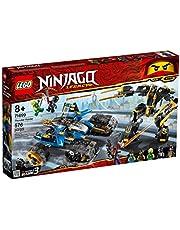 LEGO NINJAGO Legacy Thunder Raider 71699 Ninja Mech Adventure