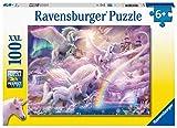 Ravensburger 129799 Unicorno pegaso, Puzzle 100 Pezzi XXL per Bambini, Età Raccomandata 6+
