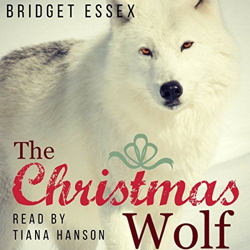 The Christmas Wolf audiobook cover art