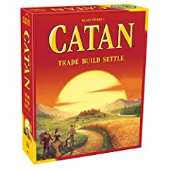 The incredibly popular, multi award winning civilization building board game of harvesting and trading resources Players control their own civilization and look to spread across a modular hex board in a competition for victory points Beware the robbe...