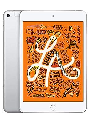 Apple iPad mini (7.9-inch, Wi-Fi + Cellular, 64GB) - Silver