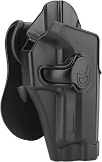 Sig P226 Holster, Outside Waistband Holster Fits Sig Sauer P220 P226 MK25 Full Size 4.4'' Barrel, OWB Paddle Holster, Tact...