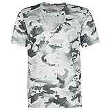 Nike Dry Tee Leg Camo AOP Camisetas & Polos Hombre Gris – XL – Camisetas