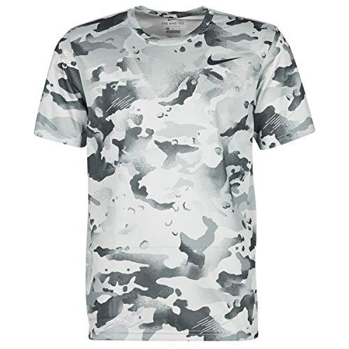Nike Dry Tee Leg Camo AOP Camisetas & Polos Hombre Gris - L - Camisetas