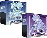 Pokemon Sword & Shield Chilling Reign Elite - Juego de cartas coleccionables, caja de entrenamiento