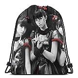 ビームバックパック ベビーメタル BABYMETAL 巾着バックパック ジムサック ナップサック 多機能ビームバックパック 収納バッグ 巾着袋 旅行防水 通勤 運動 大容量 男女兼用