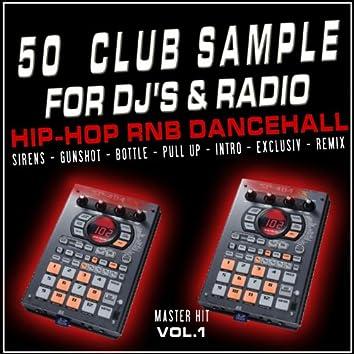 50 Club Sample for Dj's and Radio, Vol. 1