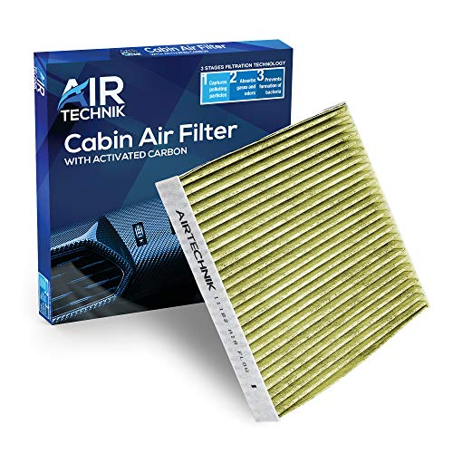 AirTechnik CF11182 PM2.5 Cabin Air Filter w/Activated Carbon | Fits Acura RDX 19-20/Honda Civic 16-20, CR-V 17-20, CR-Z 11-16, Fit 09-19, Odyssey 18-19, Insight 10-20