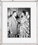 Foto: Kwame Nkrumah, Ralph Bunche, Asociación de Abogados d