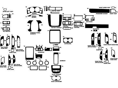07 tahoe carbon fiber dash kit - 1