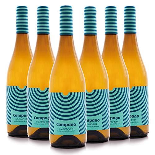 Ernesto del Palacio - Vino Blanco Verdejo -Coupage- (95% Verdejo con un toque de Malvasía 5%) (6 Botellas)