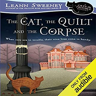 Page de couverture de The Cat, the Quilt, and the Corpse