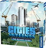 Cities: Skylines - Cooperative City-Building Board Game from Kosmos | Based On The Hit Video Game | for 1-4 Players Ages 10+ | Develop & Manage Cities & Neighborhoods