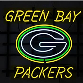 """New Green Bay Packers Miller Lite  Go Pack Go Beer Bar Neon Light Sign 24/""""x20/"""""""