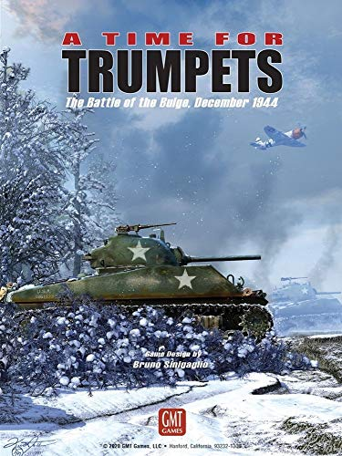 GMT Games A Time for Trumpets: The Battle of The Bulge, December 1944