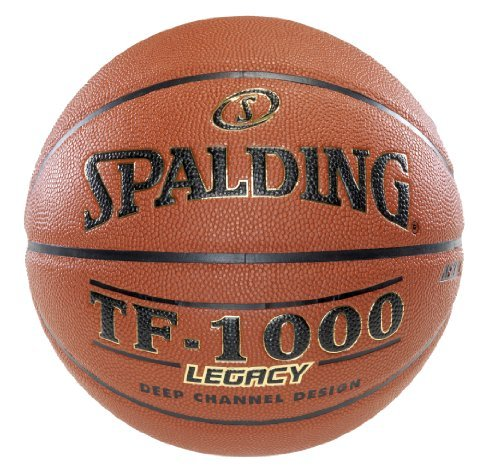 Spalding TF-1000 Legacy Indoor/Outdoor Basketball - Official Size 7 (29.5) by