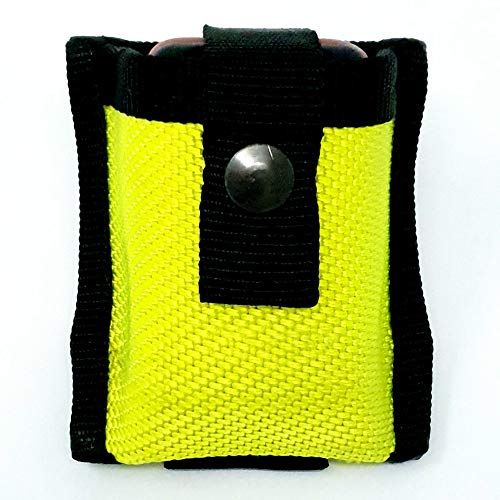 BACKDRA® Meldertasche Neongelb aus Feuerwehrschlauch FMD DME