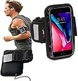 Navitech Brassard Rose Smartphone Sport Jogging vélo résistant à l'eau, Convient WIKORainbow Jam/Pulp/Lenny 2