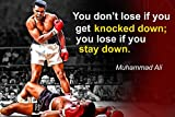 Muhammad Ali Poster Quote Boxing Black History Month...