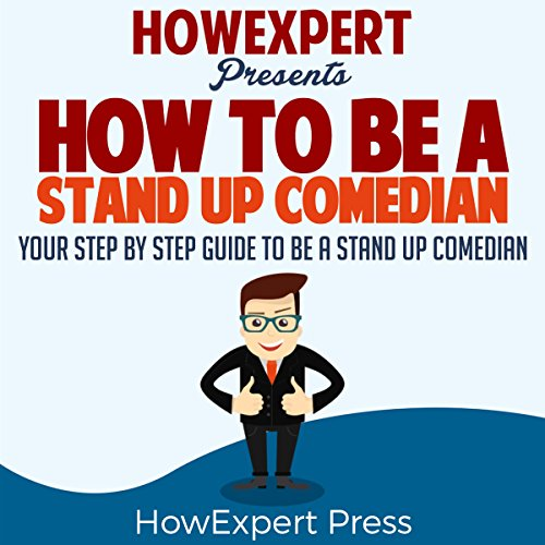 How to Be a Stand Up Comedian audiobook cover art