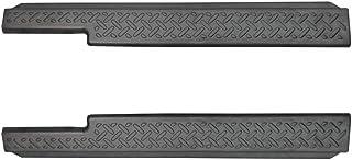 サムライプロデュース スズキ ジムニー JB64 ジムニーシエラ JB74 サイドステップ スカッフプレート 縞鋼板柄 2P ブラック