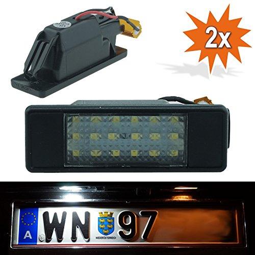 Do!LED B17 LED Kennzeichenbeleuchtung mit E-Prüfzeichen Xenon Optik